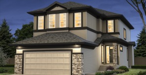 New House Design With Double Garage In Timberidge At Edgemont In Edmonton,  Alberta